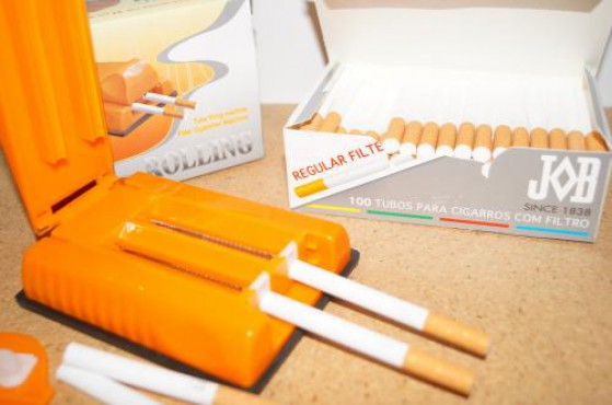 Máquina para hacer cigarros