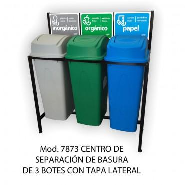 CENTRO DE SEPARACION DE BASURA 80 LTS