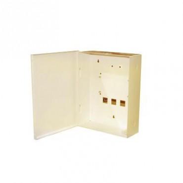 Gabinete para Alarma de la familia HUNTER PRO y Batería PL712 (No incluida).