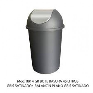 Bote de basura balancin redondo liso
