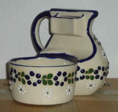 Jarra de Aceite elaborada en cerámica de alta temperatura.