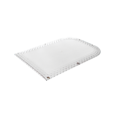 Domo lateral de reemplazo para barra de luces X67A, color claro