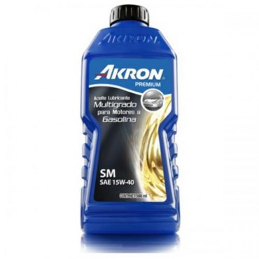 ACEITE DE MOTOR AKRON PREMIUM API SM SAE 15W-4