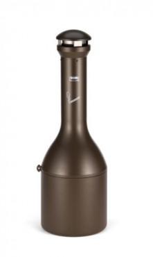 Manejo de desechos de fumadores Infinity™.Color bronce, estilo tradicional.