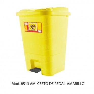 cesto de 17 litros con pedal