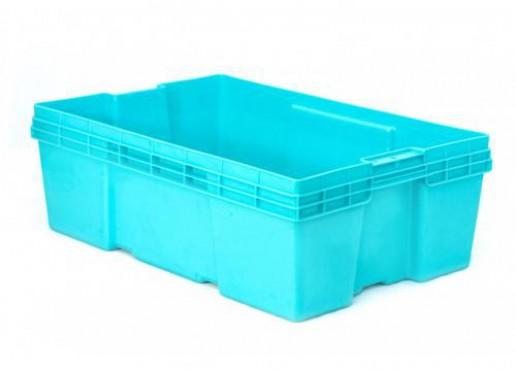 Caja Plástica Estable Montreal de 20, Capacidad: 25 kg.