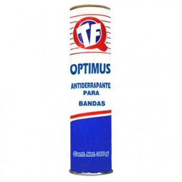 Antiderrapante para bandas Optimus 100 g, Evita pérdida de potencia