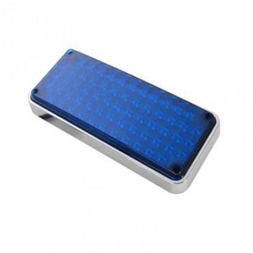 Luz de advertencia azul ideal para ambulancias de 7x3