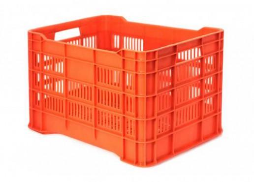 Caja De Plástico Maria Calada, Capacidad: 35kg