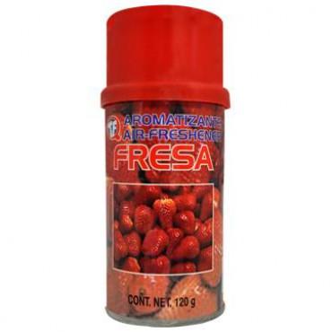 Aromatizante para auto de Fresa, gran frescura de aroma