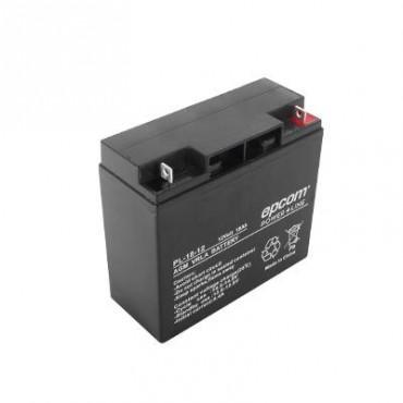 Batería con Tecnología AGM / VRLA, 18 Ah.