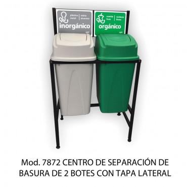 CENTRO DE SEPARACION DE BASURA 65 LTS