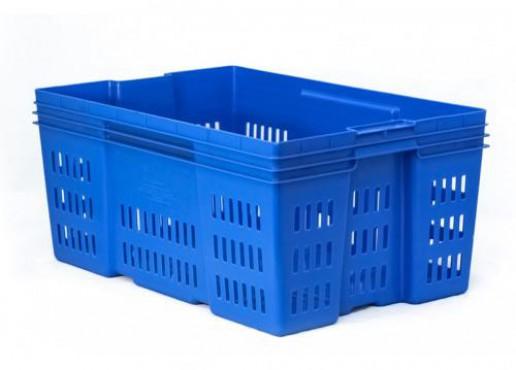 Caja De Plástico  Montreal Calada de 28, Capacidad: 30 kg.