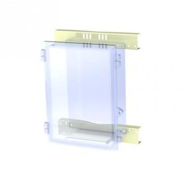 Montaje de poste para gabinete NEMA TXG-4050 y TXT-4050.